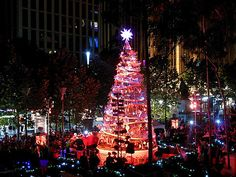 Melbourne Christmas tree