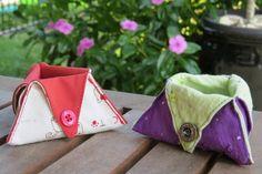 Mini Triangular Boxes- Thread catcher