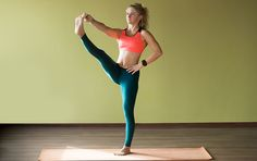 Yoga For Hips And Thighs - Utthita Hasta Padangusthasana/Extended Hand-To-Big-Toe Pose
