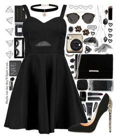 """Untitled #358"" by anna-nedelcheva ❤ liked on Polyvore featuring Jack Black, Threshold, NARS Cosmetics, Boohoo, Cerasella Milano, Ivanka Trump, Christian Dior, LMNT, Betsey Johnson and Chantecler"