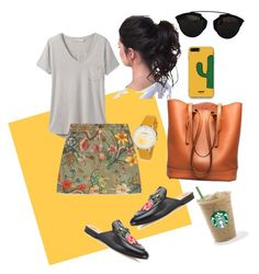 """""""chillin'"""" by lindacorp on Polyvore featuring prAna, Gucci, Bruno Magli, WithChic and Christian Dior"""