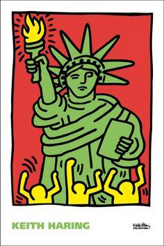 Pop-Shop.com Statue of Liberty, 1986 Poster