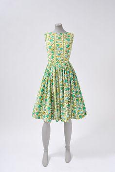 Spring, summer, dress, 1950's