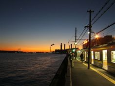 A station on the sea! #japan #Yokohama