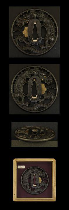 Japanese tsuba (katana sword hilt)