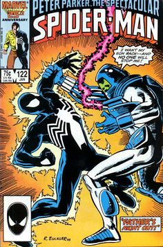 Peter Parker, The Spectacular Spider-Man # 122 by Rich Buckler