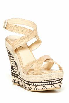 Bucco Rosamond Wedge Sandal
