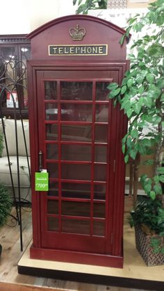 London Telephone Booth At Homegoods