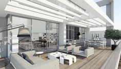 The Duplex | Oak Project apartments | by Rani Ziss Architects | interior design: Ando Studio