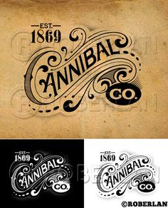 Cannibal Co Vintage Logo | Flickr - Photo Sharing!