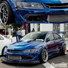 Everyone loves a good looking EVO, right? Street Racing Cars, Auto Racing, Honda Civic Si, Mitsubishi Lancer Evolution, Nissan 350z, Stance Nation, Nissan Skyline, Subaru Impreza, Jdm Cars