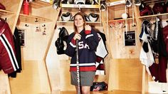 The Activist: Angela Ruggiero retired from professional hockey this past December.  She has one 4 Olympic medals as a member of the United States women's national ice hockey team.