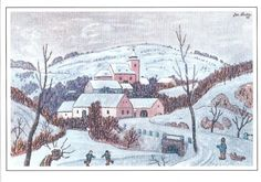 Josef Lada – luciezez – album na Rajčeti Czech Republic, Handicraft, Illustrators, Christmas Cards, Folk, Seasons, Traditional, Retro, Photography