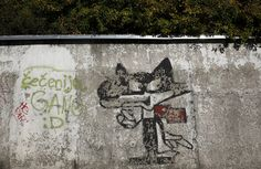 Abandoned Venues From The 1984 Winter Olympics - Vucko, the official mascot of the 1984 Olympics.
