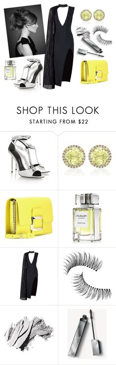"""""""A TOUCH OF YELLOW"""" by seika4 ❤ liked on Polyvore featuring Tom Ford, Kiki mcdonough, Roger Vivier, Thierry Mugler, Posh Girl, Trish McEvoy, Bobbi Brown Cosmetics and Burberry"""