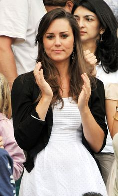 Kate Middleton At Wimbledon, June 2008