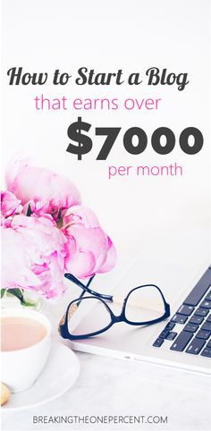 I made $7,158 from my blog last month, so I wrote a guide showing you how YOU can get set up and potentially do the same thing.  Blogging is a great way to earn extra money and make money from home!