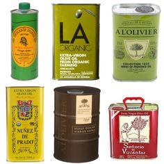 olive oil tins