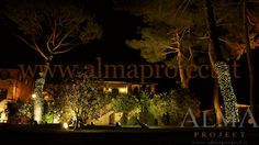 ALMA PROJECT @ Borgo San Felice - Piazza - Fairy light trees - lighting - 1