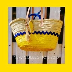 sietecuatrocuatro: NEW COLLECTION ... NUEVA TEMPORADA 2015 ... CAPAZOS DE 744 capazos-beach-bags-summer-verano-sol-sun-playa-beach Sol Sun, Playa Beach, Rope Basket, Handmade Bags, Straw Bag, Arts And Crafts, Diy Bags, Tote Bag, Diy Ideas