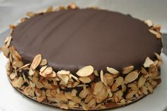 Julia Childs Queen of Sheba Cake. Don't forget the butter!