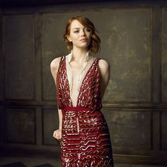See Mark Seliger's Instagram Portraits from the 2015 Oscar Party | Emma Stone