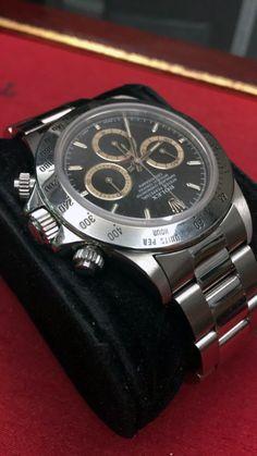 勞力士 (Rolex) [MINT][VERY RARE] Daytona 16520 W-Series Patrizzi Brown Dial at HK$168,000.