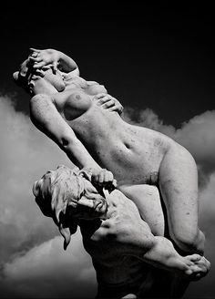 Auguste Suchetet - Le Rapt, Triton et la Naïade, 1903