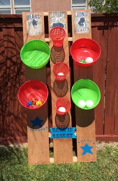 DIY Carnival Game, ball in basket, circus, birthday, fun. Best Picture For Diy carnival For Yo Diy Carnival Games, Carnival Games For Kids, Carnival Themed Party, Carnival Birthday Parties, Carnival Themes, Kids Party Games, Birthday Party Games, Birthday Diy, Party Themes