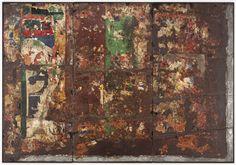Raymond Hains, Untitled, 1959-1960