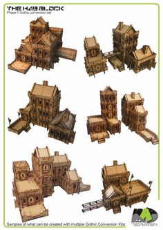 The Hab Block - Phase II 28mm modular Wargaming Terrain by Mad Gaming Terrain — Kickstarter