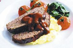 Meatloaf by Matt Preston My Recipes, Beef Recipes, Snack Recipes, Cooking Recipes, Snacks, How To Cook Meatloaf, Meatloaf Recipes, Masterchef Recipes, Masterchef Australia