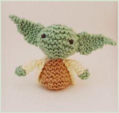 Knitted Amigurumi Star Wars Yoda Pattern   Jellybum   Etsy