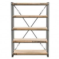 Innovative Mansfield Large Bookcase White