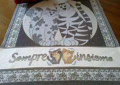 Asciugapiatti - regalino per Denise Scalambrin