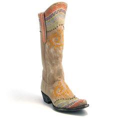 Old Gringo Bone Zeraoe Boot at The Maverick Western Wear