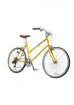 Ride in style and efficiency with this 7-speed Tokyo bike, available in 12 cool colors. Big plus: the 26-inch wheels are a snap to store: