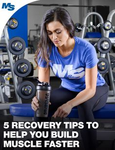Let's face it, you likely love to focus on training. But what about recovery? Check out these 5 tips to recover faster and build more muscle over time!