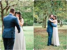 First Look | Why You Should Have a First Look | Beautiful Wedding Photos | Indie Outdoor Wedding