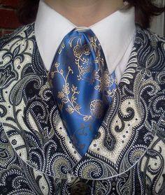 blue cravat - #cravatte #cravatta #tie #ties