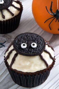 Spider Cupcakes - WomansDay.com