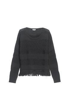 Un pull en maille all black