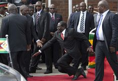 Robert Mugabe of Zimbabwe Losing Ability to Walk