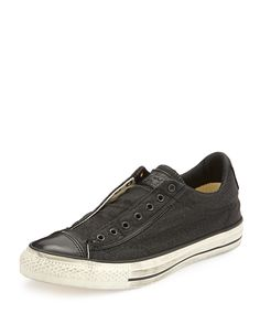 Chuck Taylor All Star Low-Top Sneaker, Black, Size: 8D - Converse