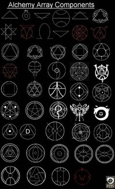 Alchemy and Sacred Components