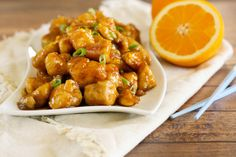 Gluten Free Orange Chicken can now be made at home! How awesome is that?