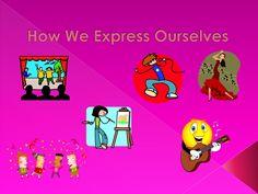 How we express ourselves pp by uniskindergarten via slideshare