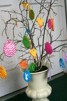 salt dough ornaments for Easter- fun project for kids