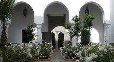The latest Chic Marrakech blog:- The lush internal courtyard of a riad    http://grantstonerrawlings.blogspot.com/2012/08/the-lush-internal-courtyard-of-riad.html