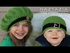 ▶ Learn How to Crochet - Easy Adjustable Magic Ring Loop Circle, Seamless Join & Irish Beret Hats - YouTube